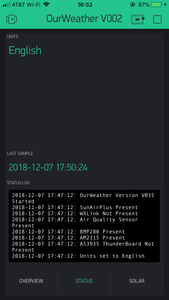 OurWeather - Complete Weather Kit