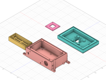 Load image into Gallery viewer, 3D Print for Smart Garden System Raspberry Pi and Garden Cam