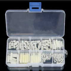 140pcs/box M2  Nylon Hex Thread Assortment Kit