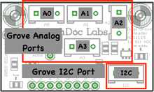 Load image into Gallery viewer, Grove - 4 Channel 16 Bit Analog to Digital Converter