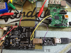 V1 USB PowerControl board - USB to USB solid state relay for Raspberry Pi and Arduinos