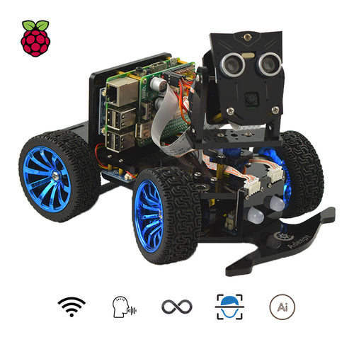 PiCar-B Raspberry Pi Based Robot for Robotics Experimentation