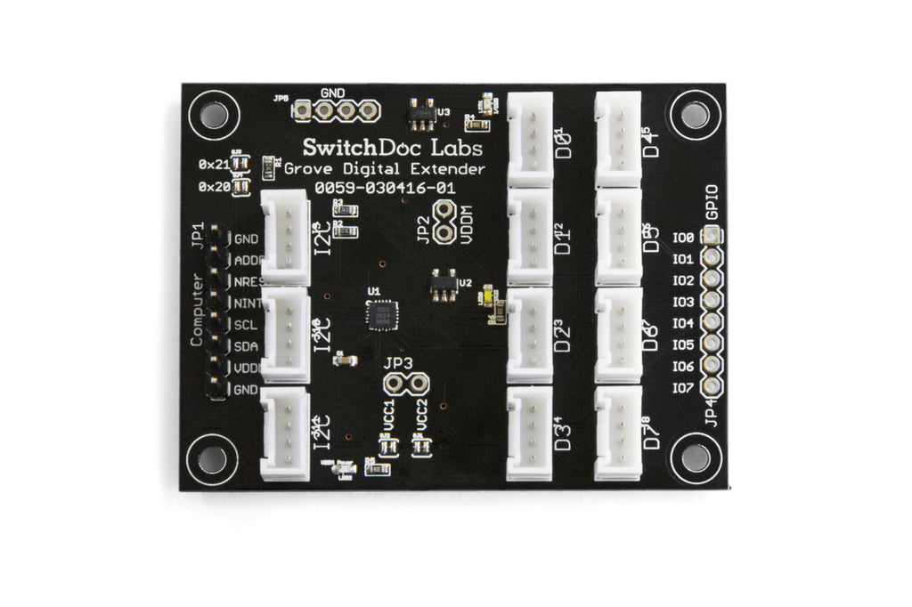 Grove Digital Extender I2C Board – SwitchDoc Labs