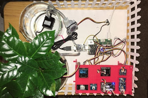 SmartPlantPi - Raspberry Pi based Smart Plant Kit - No Soldering!