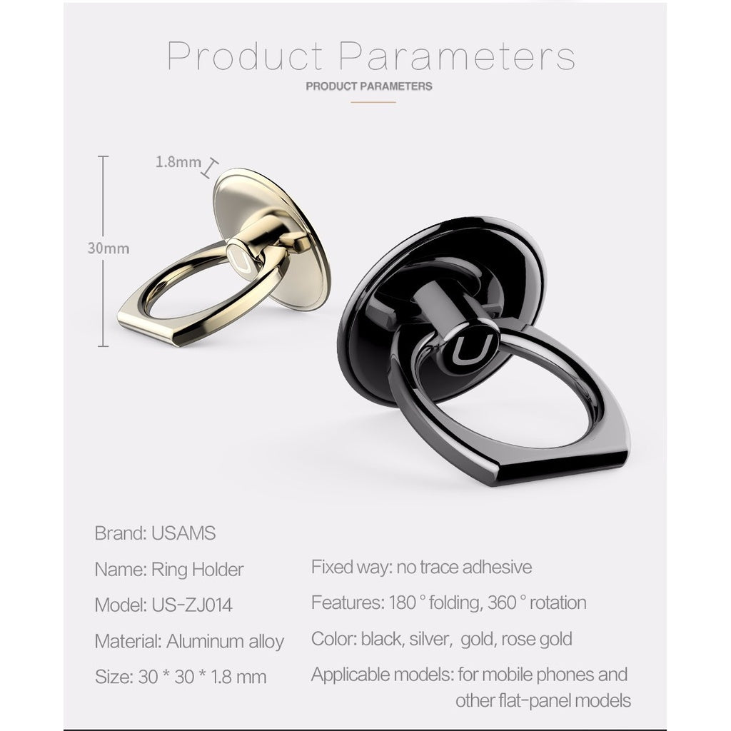 Finger Ring Holder 360 Degree.