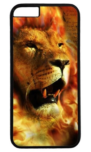 Iphone 6s Cases Custom Apple IPhone 6 Skin 0024695 fire lion design case for iphone 6 hard shell black Skin
