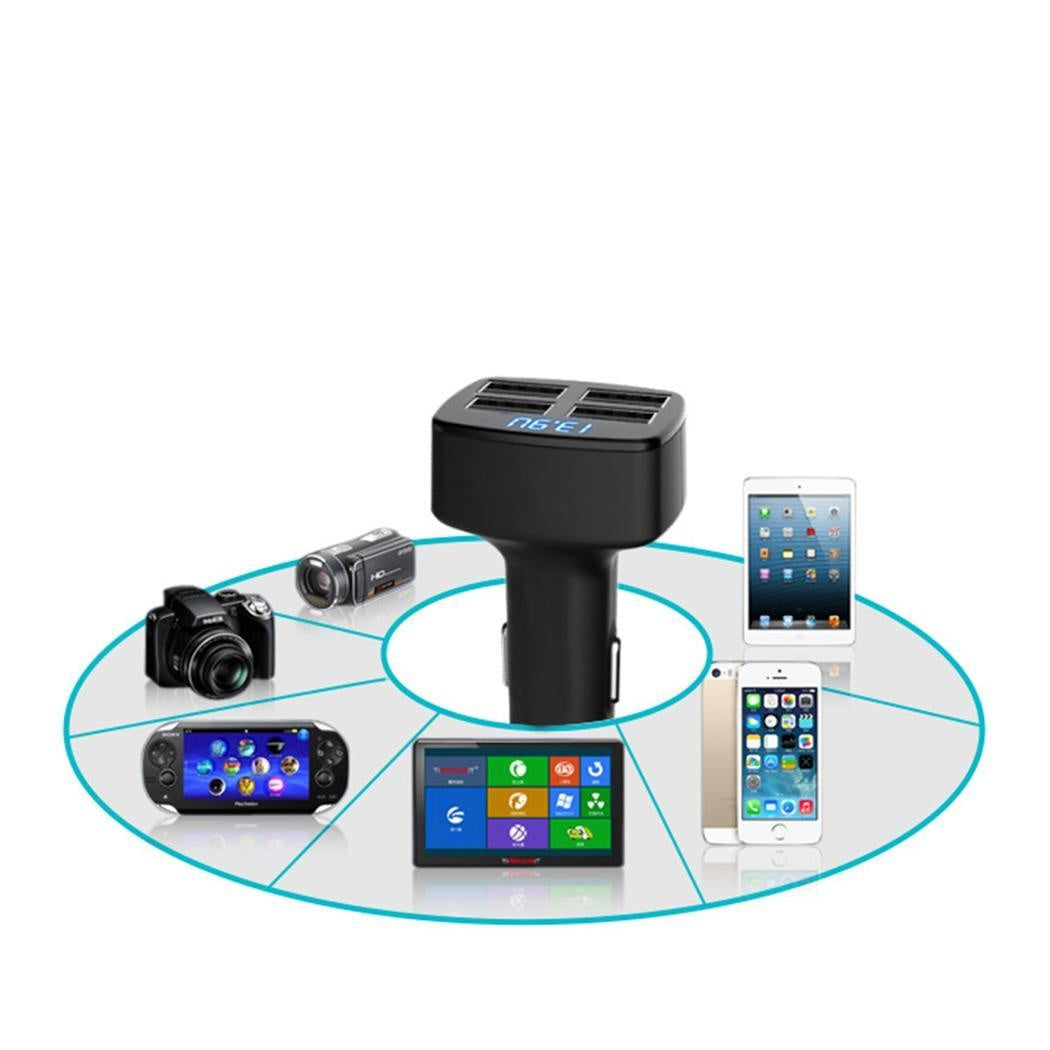 Double USB Cigarette Lighter Car Charger.