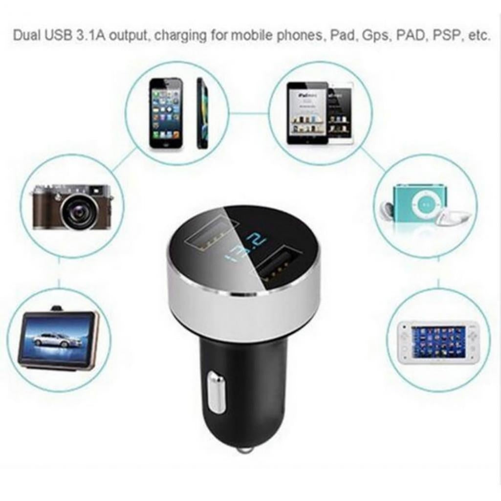 Usb Universal Car Charger For Iphone Samsung Psp