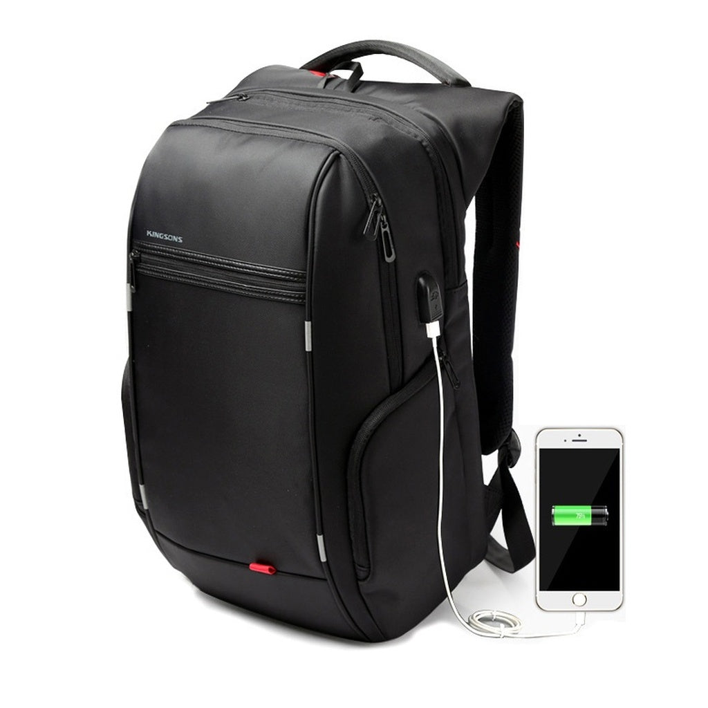 External USB Charge Antitheft Notebook Backpack-B Design for Women 15.6'' Waterproof Laptop Backpack Computer Bag
