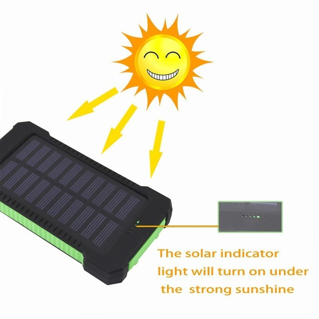 Best USB Solar Power Bank For Fast Portable Charging