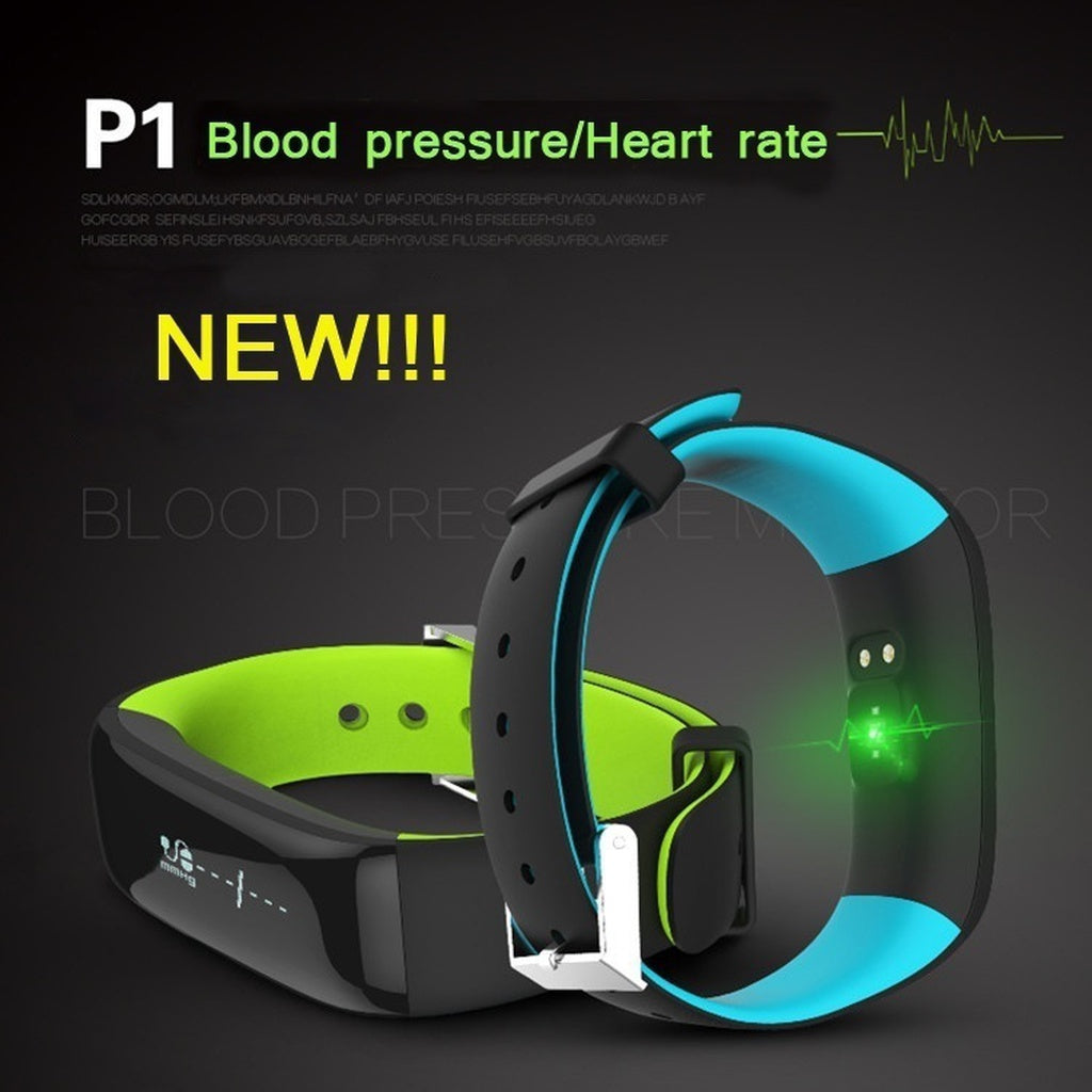 Smart Watch With Blood Pressure Monitor.