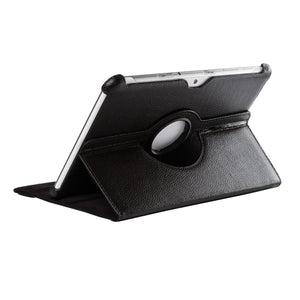 "Samsung Galaxy tablet 2 case 10.1"" black leather case."