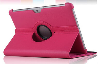 Red samsung tablet 2 case