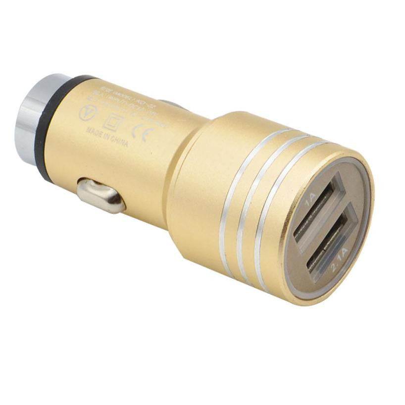 Cigarette lighter,Dual USB car  charger for phone.