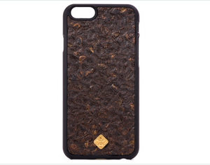 coffee phone case.made from organic material.