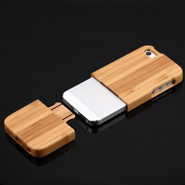 Bamboo Wood Case Cover For iPhone 5G 5S  Cover