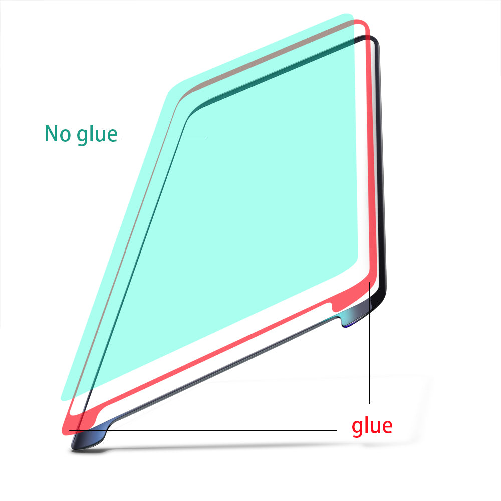 Tempered glass screen for Samsung Galaxy phone