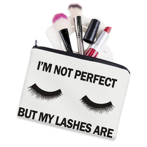 I'm not perfect- makeup/pencil case