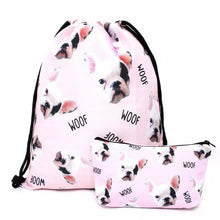 Funky Pup Backpack Set