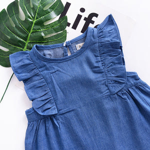 Winnie Denim Mini Dress
