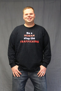 Be A HUMAN Stop The TRAFFICKING