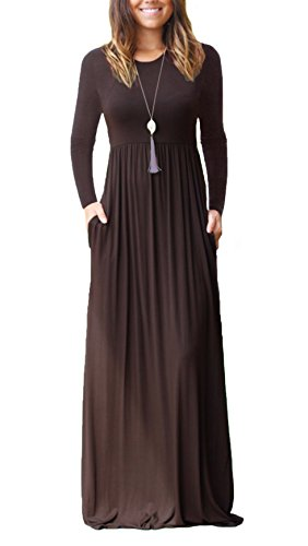 Maxi dresses with pockets for women