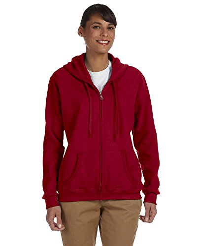 Women's Heavy Blend Full-Zip Hooded Sweatshirt