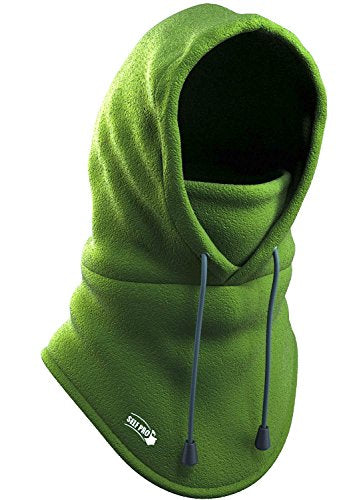 Balaclava Fleece Hood - Windproof Ski Mask - Heavyweight Cold Weather Winter Motorcycle, Ski & Snowboard Gear - Ultimate Protection from the Elements