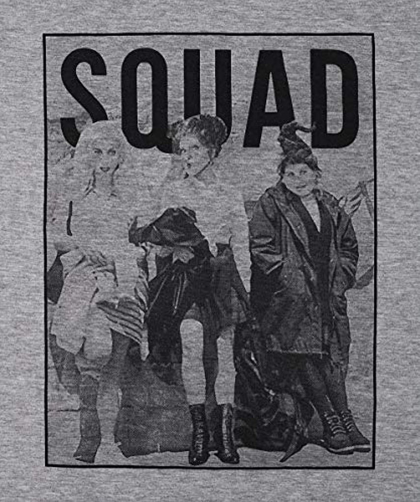 Sanderson Sisters Squad Cute T Shirt Halloween Graphic Tees for Women Hocus Pocus Funny Shirts Fall Casual Tops