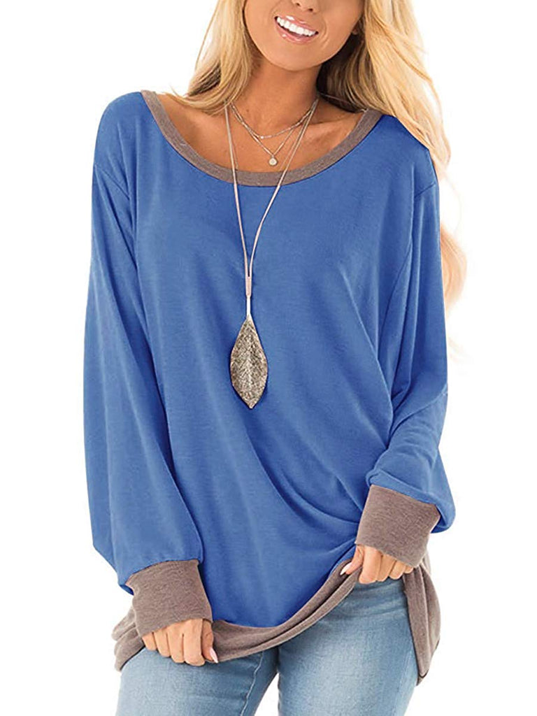Women's Casual Shirts Twist Knot Tunics Tops