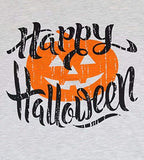 Happy Halloween Pumpkin Baseball T-Shirt Women's Raglan Long Sleeve Top Stripe Splicing Tees