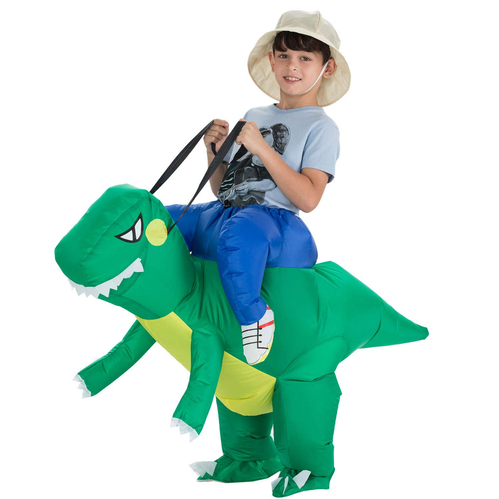 Inflatable Dinosaur T-REX Costume | Inflatable Costumes for Adults| Halloween Costume | Blow Up Costume