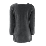Ladies Sweater Coat Long Sleeve Soft Smooth Warm