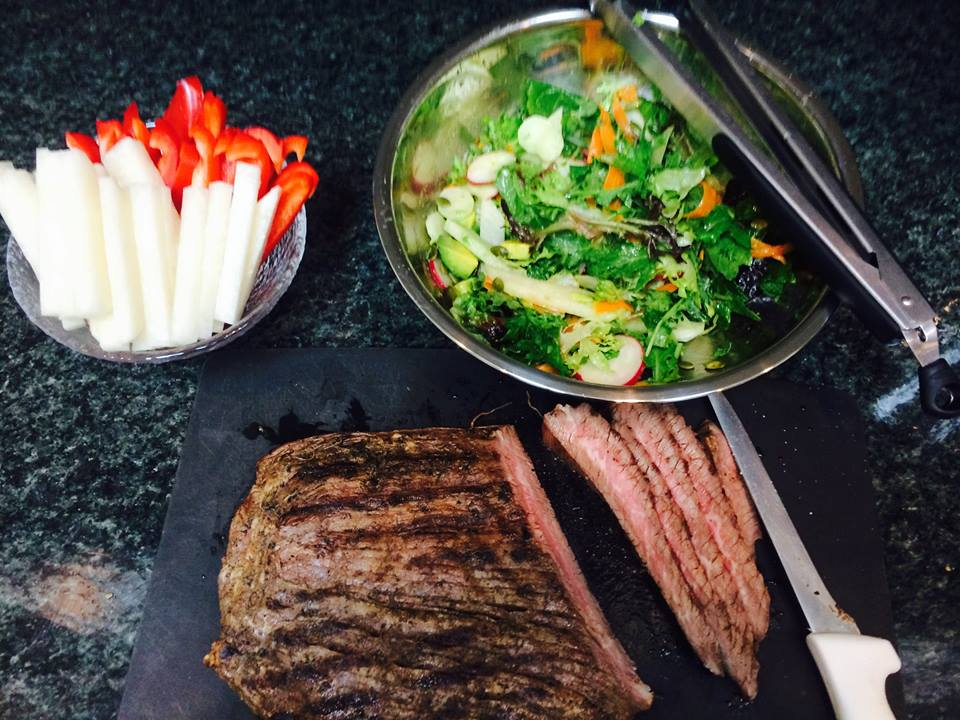 Grilled Flank Steak (GF)