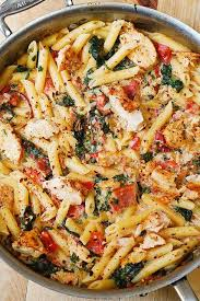 Penne with Tuscan Chicken (GF)