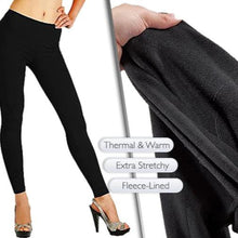 Load image into Gallery viewer, Fleece Lined Leggings