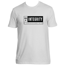 Man of Integrity Block - Mens Fitted Crew T-shirt