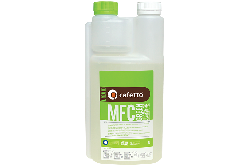 Cafetto MFC Green Milk Frother Cleaner 1L - A-SMART PTY LTD