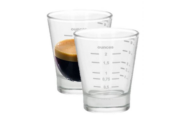 Espresso Shot glass 15/60 ml - A-SMART PTY LTD