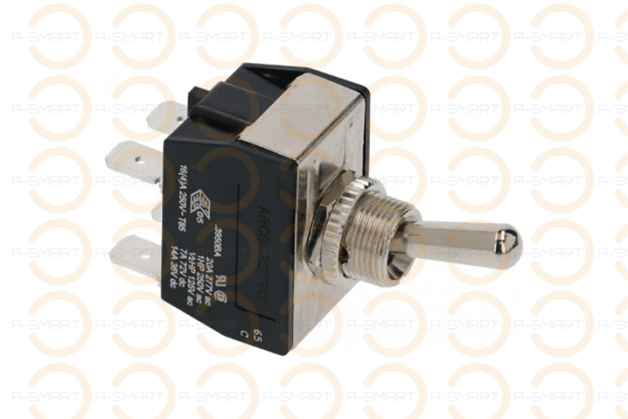 Lever Switch 16A 250V - A-SMART PTY LTD