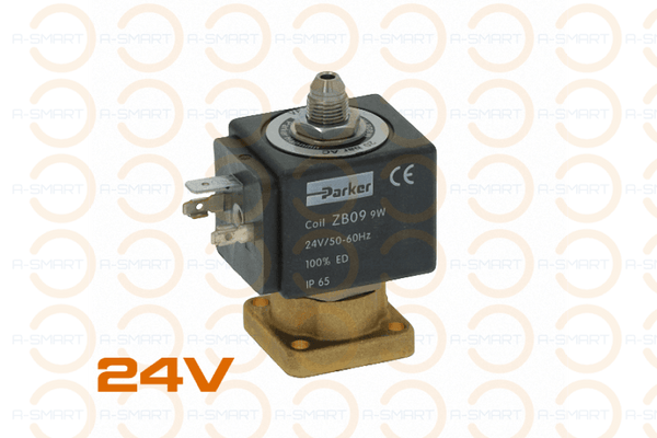 3 Way Solenoid Valve Parker 24V 50/60Hz