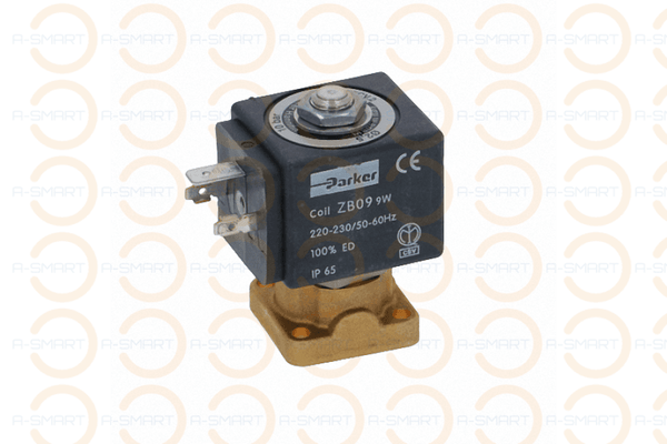2 Way Solenoid Valve Parker 230V 50/60Hz