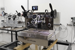 XLVI SteamHammer Electronic Espresso Machine