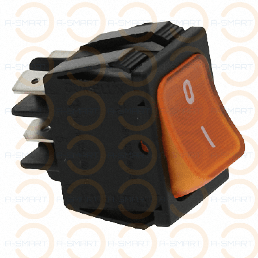 Bipolar Switch Orange 16(4)A 250V