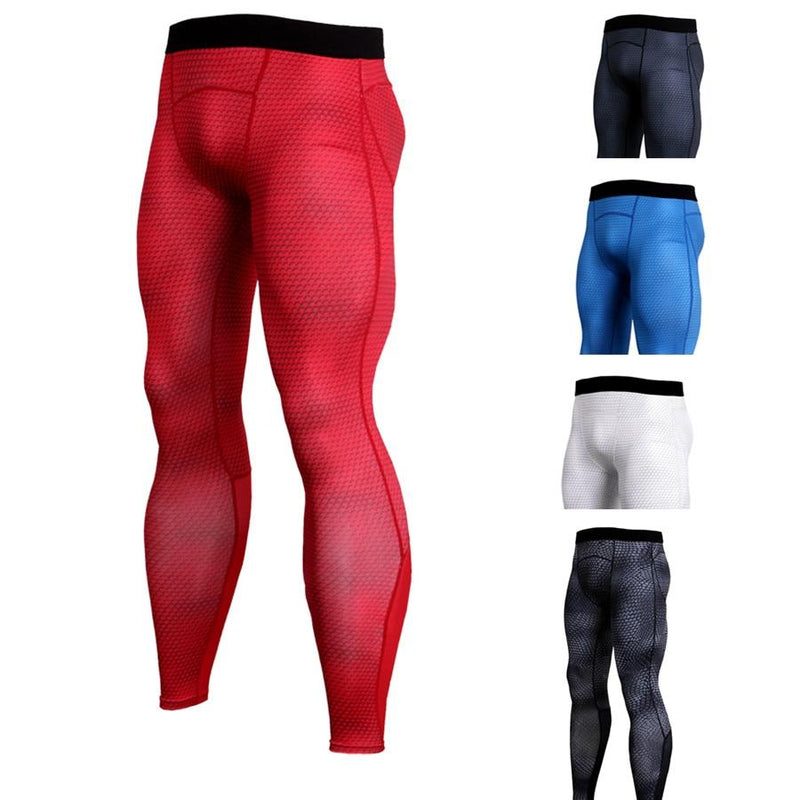 Compression Workout Training Tights Pants - Hamilton Fitness Apparel