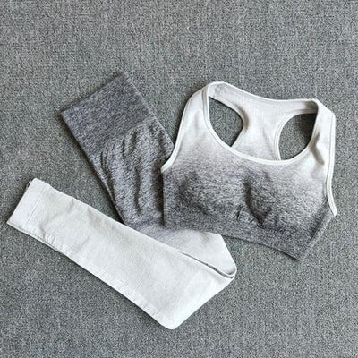 Yoga Set Sports Bra and Leggings Women Gym Set - Hamilton Fitness Apparel