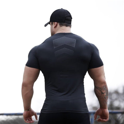 Men Compression  Sport T-shirt - Hamilton Fitness Apparel