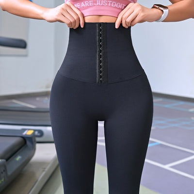 womens Yoga Pants Stretchy High Waist Compression Tights - Hamilton Fitness Apparel