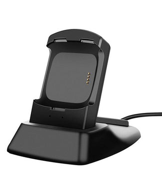 Black Charging Stand for Fitbit Versa - Midtown Bargains