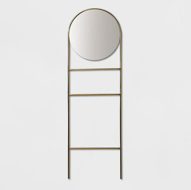 Clearance: 64% Off - Standing Mid Century Modern Floor Mirror - Midtown Bargains
